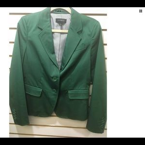 Talbots forest green cotton cool 😎 jacket size 6